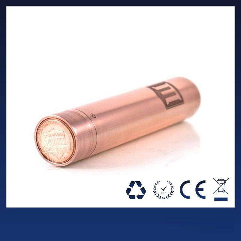 Wholesale - The newest red copper penny mod Perfect appearance penny mod clone for 510 Thread Clearo