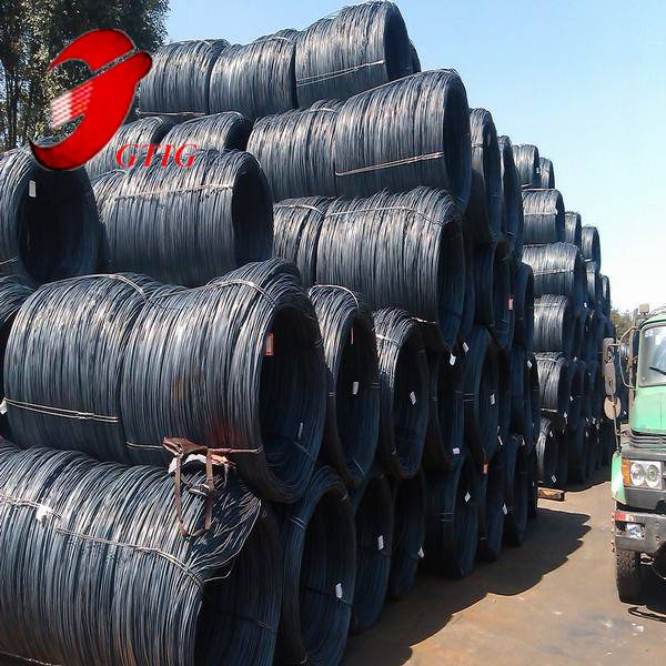 hot sales low carbon 8mm hot rolled sae 1008b wire rod