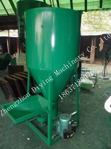 Hot Sale Feed Crushing Mixer/DY Vertical feed crushing mixer/DY poultry feed mixer crusher and mixer