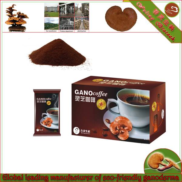 Ganoderma Black Coffee With Extract Powder