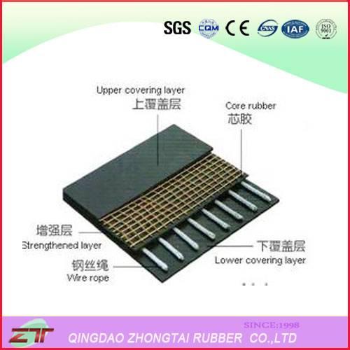 Metal Rubber Conveyor Belt