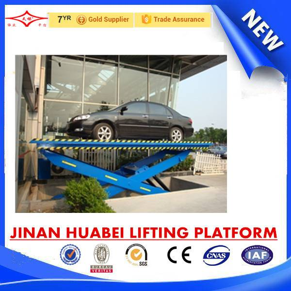 China cost effective hydraulic elevating work platform for cars