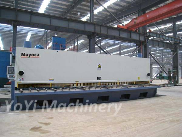 QC11Y-20x6000 hydrualic steel plate cutting shearing machine