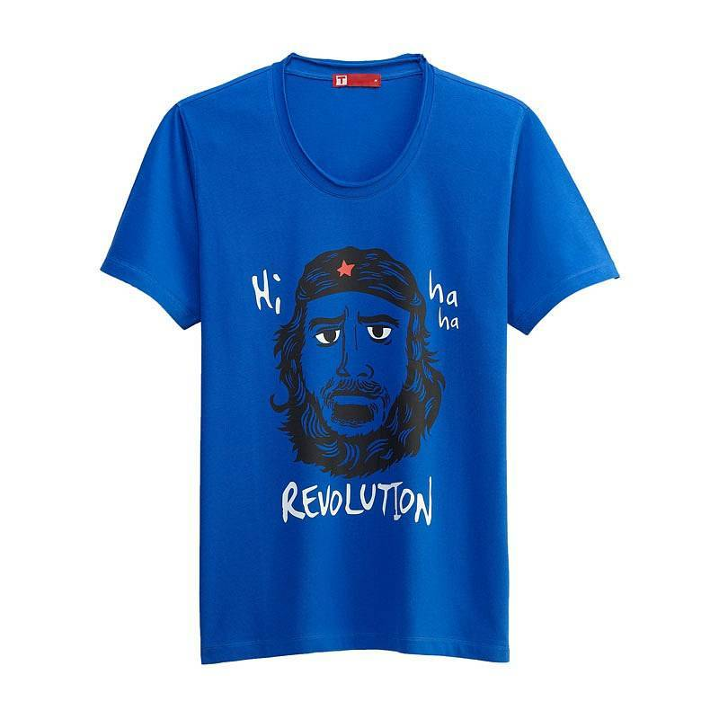 Revolution Short Sleeve T-shirt (Men) Royal Blue