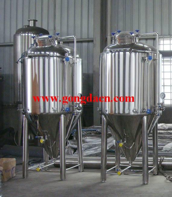 50L-6000L Conical Beer Fermentation Tanks