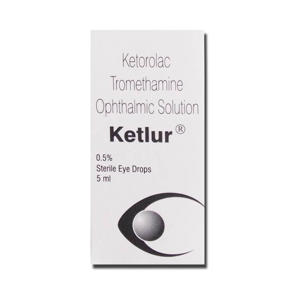 Ketlur ( Ketorolac) eye drops