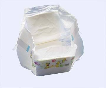 BCBD030 Baby Diapers with PE Backsheet