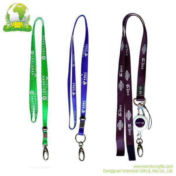 Selling Nylon Lanyards Silk Screen Printing Logo