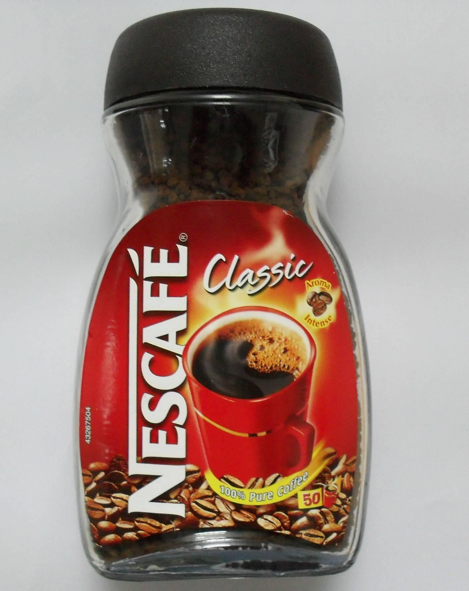Nescafe Instant coffee & Carnation coffeemate.