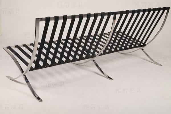 SHIMING FURNITURE MS-3101 Barcelona Chair and ottoman frame