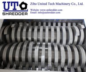 waste treatment crusher shredder D4280 Double roller