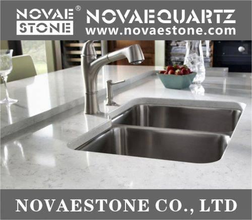 China quartz stone quartz slab countertop fabrication