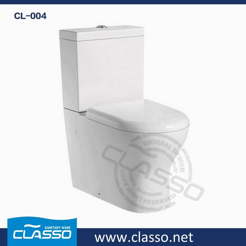 Hot sale washdown toilet new design 4-inch CLASSO two piece closet CL-004