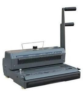 WB001 wire book binding machine