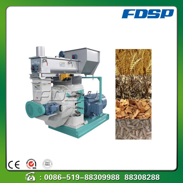 Superior quality biomass straw pellet mill
