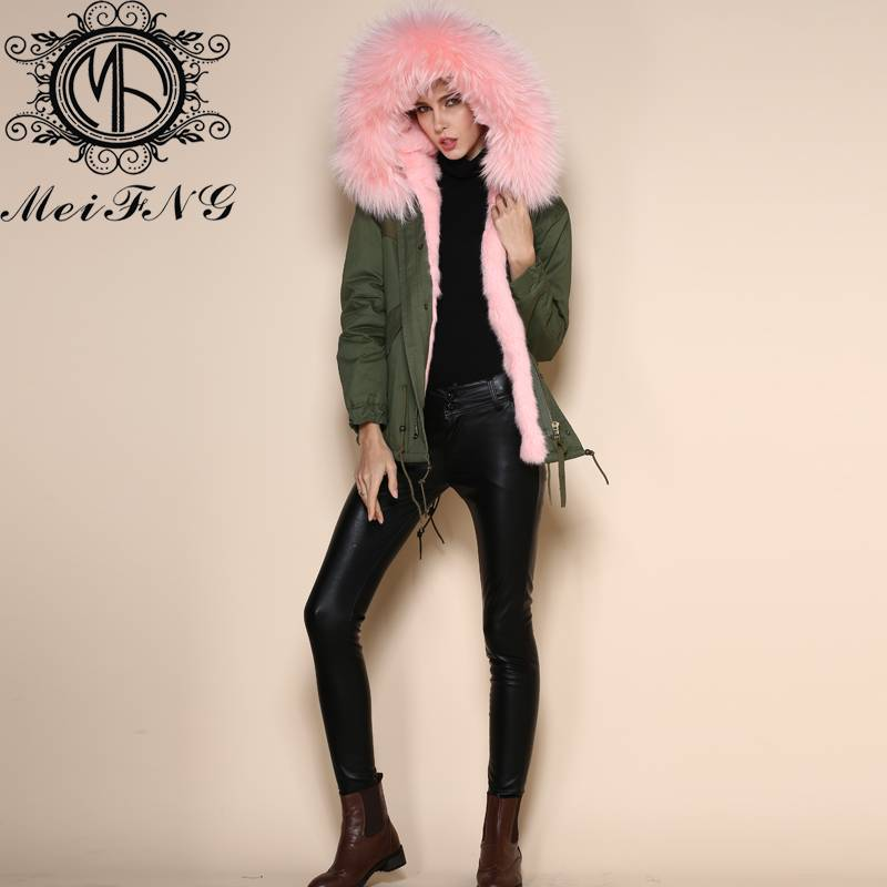 latest fashion new design coffee color luxury korean style real rabbit fur coat