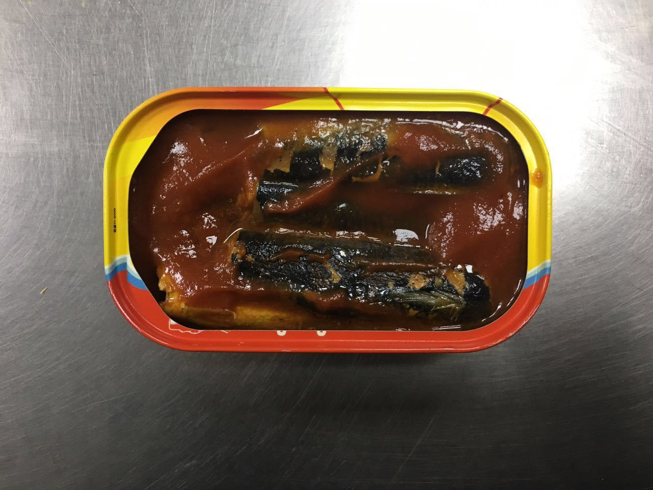 125g canned sardines in tomato sauce