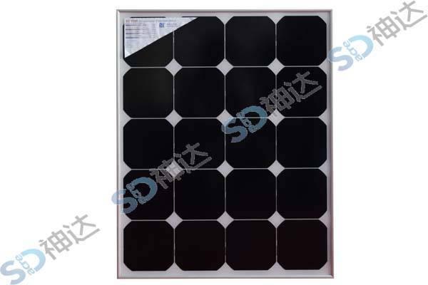 60W solar module with frame