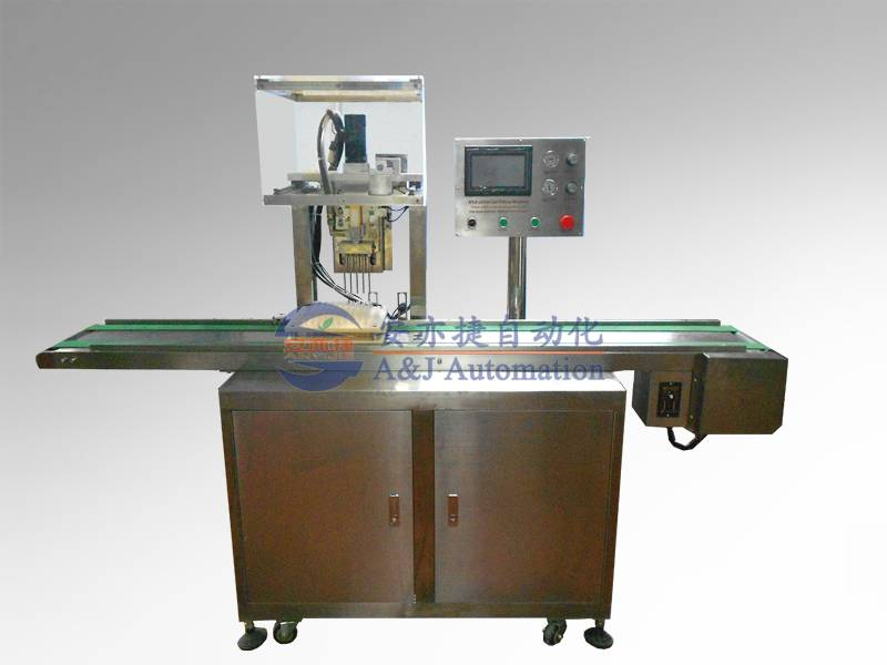 10 channels gel filling machine