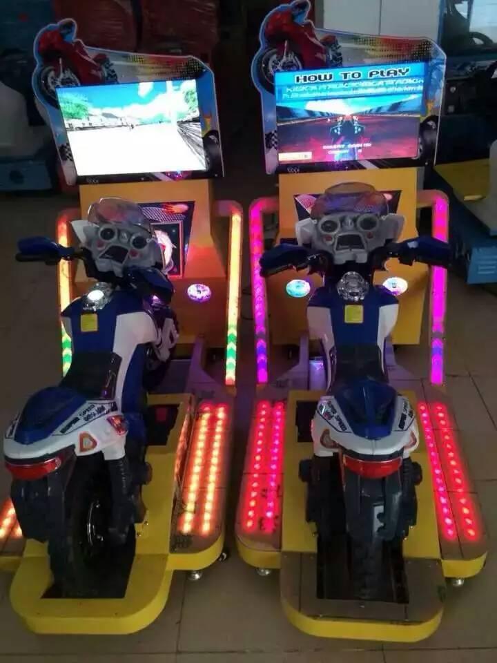Simulator racing game machine 22LCD TT Moto Racing Game Machine