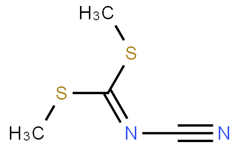 N-Cyanoimido-S,S-dimethyl-dithiocarbonate