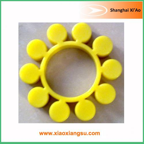 Yellow PU high pressure resistance rubber flex coupling