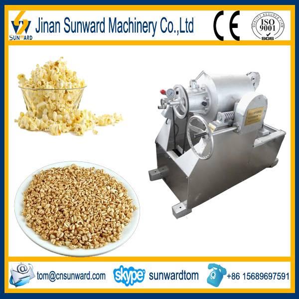Stainless steel good quality popcorn machine