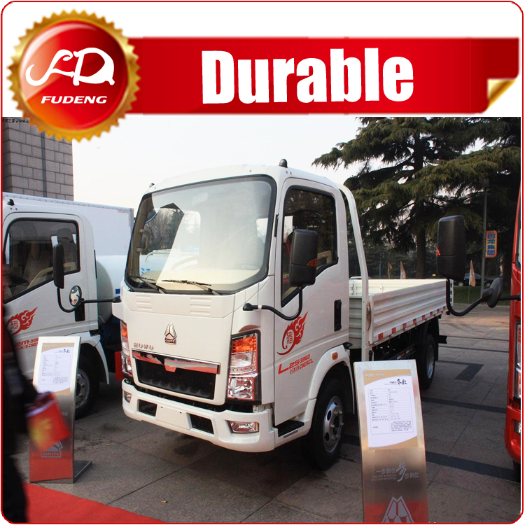 Famous brand Sinotruk CDW 4x2 light cargo truck with low price