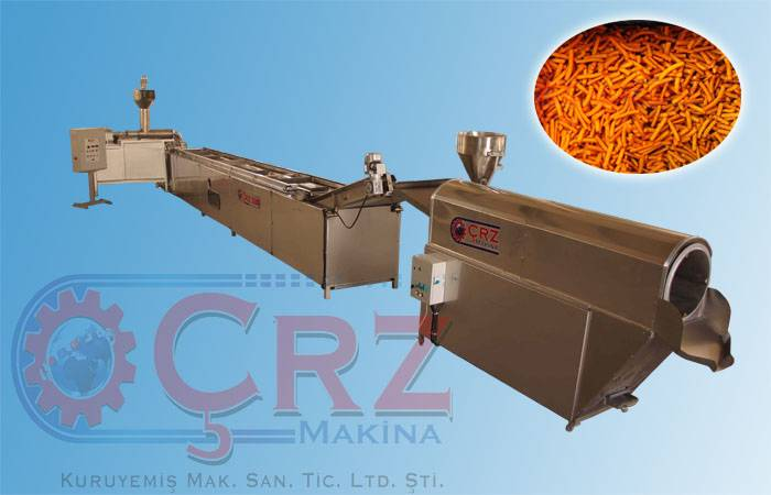 CRZ-2000 CORN NUT PRODUCTION LINE