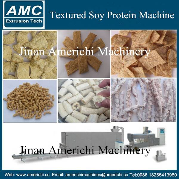 Textured soy protein making machne