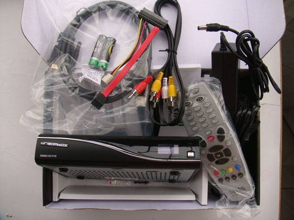 dreambox 800 HD satellite receiver