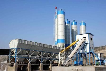 dongchen concrete batching plant HZS35