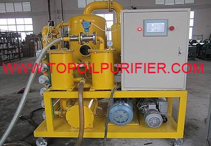 high vacuum transformer oil purification