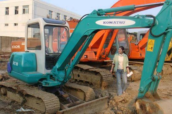 Used KOMATSU Excavator PC50L