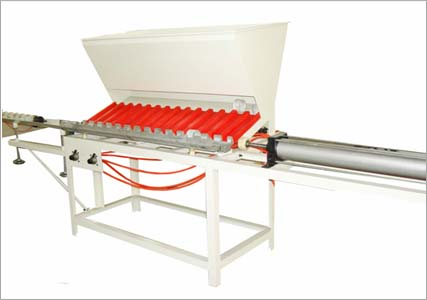 Paper tube automatic loading and unloading machine