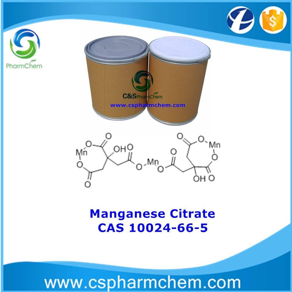 Manganese Citrate; CAS No.10024-66-5