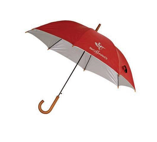 Straight Auto Polyester Silver Coating Advertising Umbrella,Promotional Umbrella