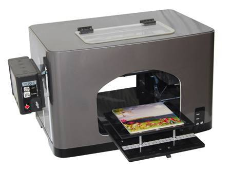 A4 Size Digital Flatbed Printer (Model:UN-FT-MN102E)