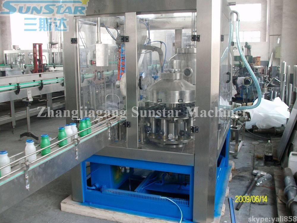 Milk Filling And Aluminium Foil Sealing Machine 2in1