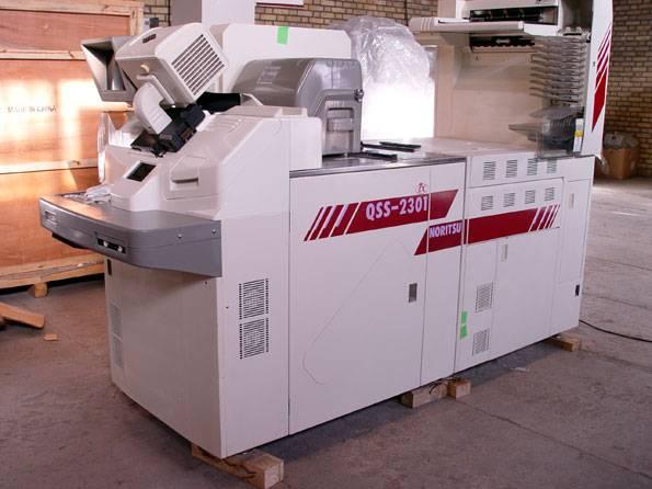 used Noritus qss 2301 minilabs