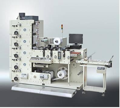 Label Flexography flexo printing press printer machine