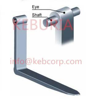 forklift fork arm pin type shaft type