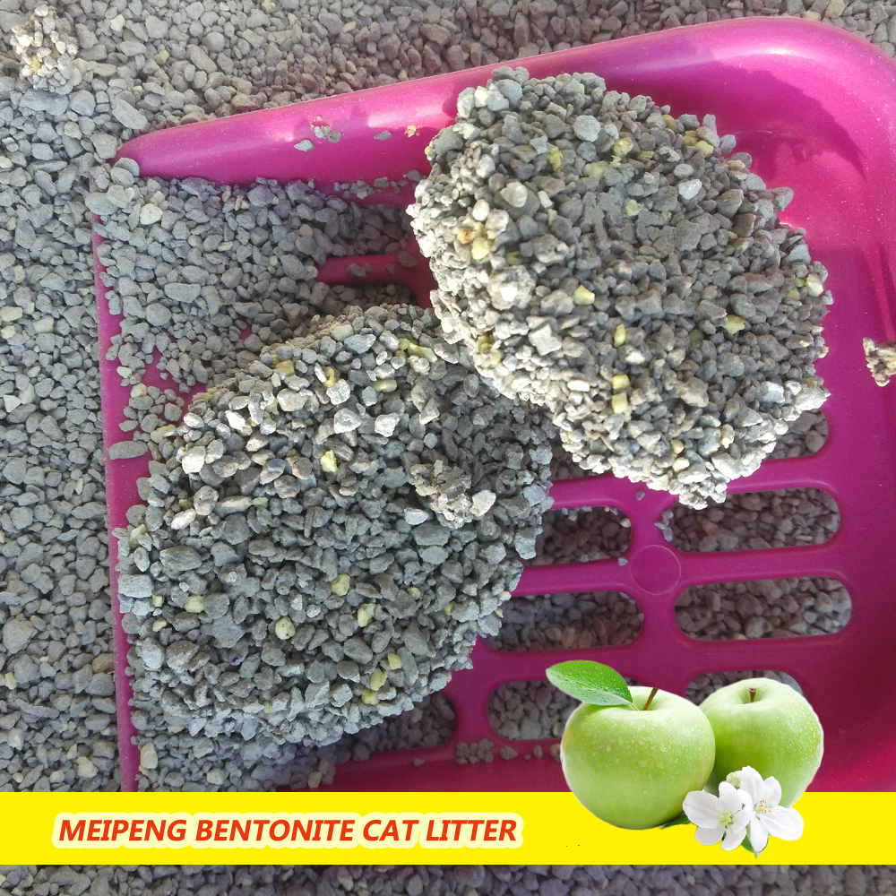 Low dust bentonite cat litter cleaning supplies factory outlets