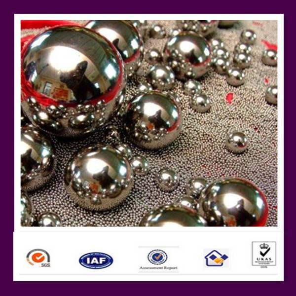 lighting chrome steel ball with HRC:60-66
