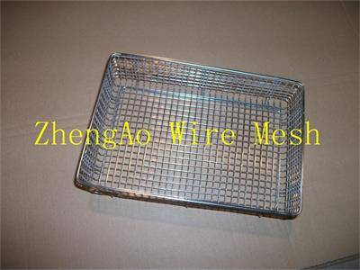 Metal processing baskets