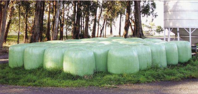 offer silage stretch film , white and green, black silage film