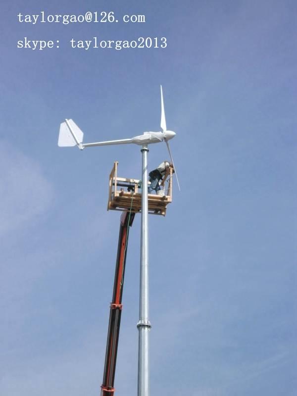 YANENG home designs wind power generation equipment 3kw wind turbine