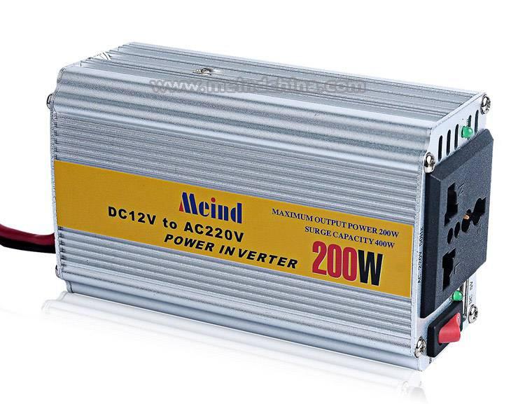 200W Power Inverter AC Adapter USB Car Inverters Power Supply Watt Inverter Car Charger
