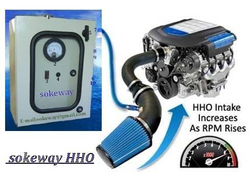 HHO generator fuel saver dry cell for car/truck water fuel car