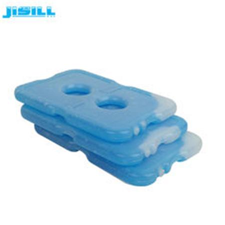 OEM / ODM Freezer Cool Packs Cooling Gel Pack Transparent White With Blue Liquid